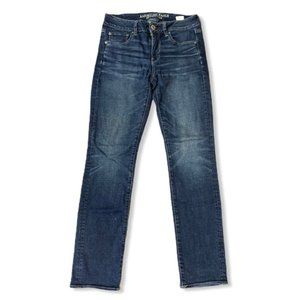 American eagles outfitters blue straight jeans